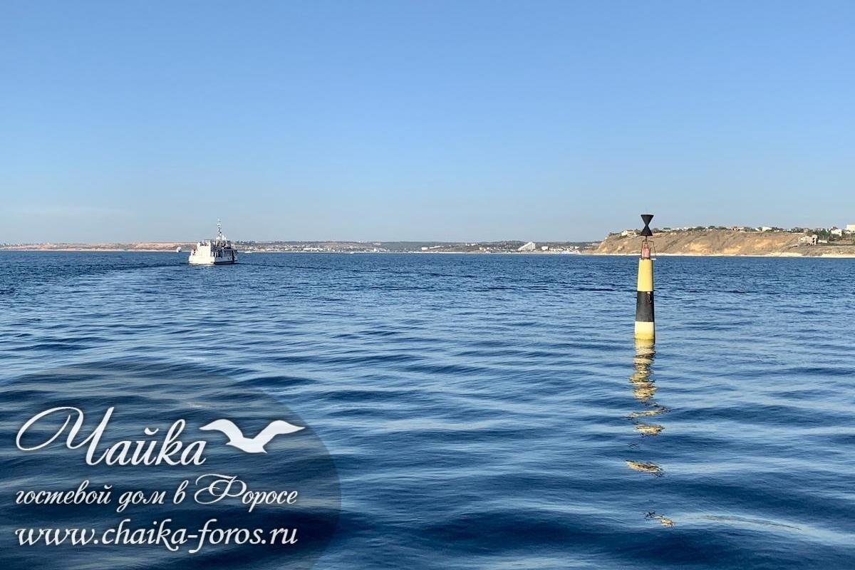 Гостевой дом Чайка Форос Ялта Крым отдых у моря