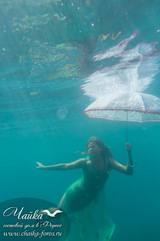 Фотосессия под водой цена Форос Крым