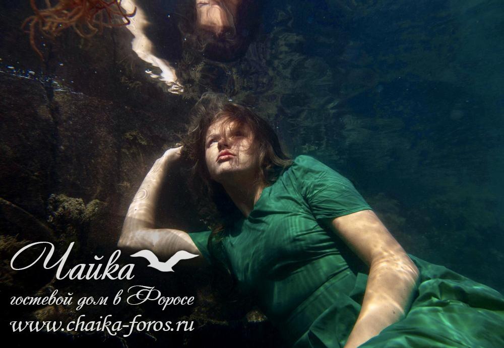 Фото под водой Форос Крым