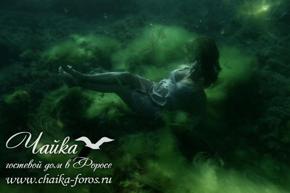 Красивые фото под водой Форос Крым