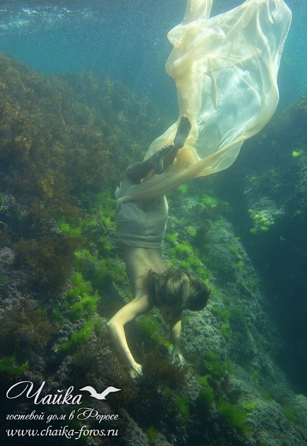 Фотографии под водой Форос Крым