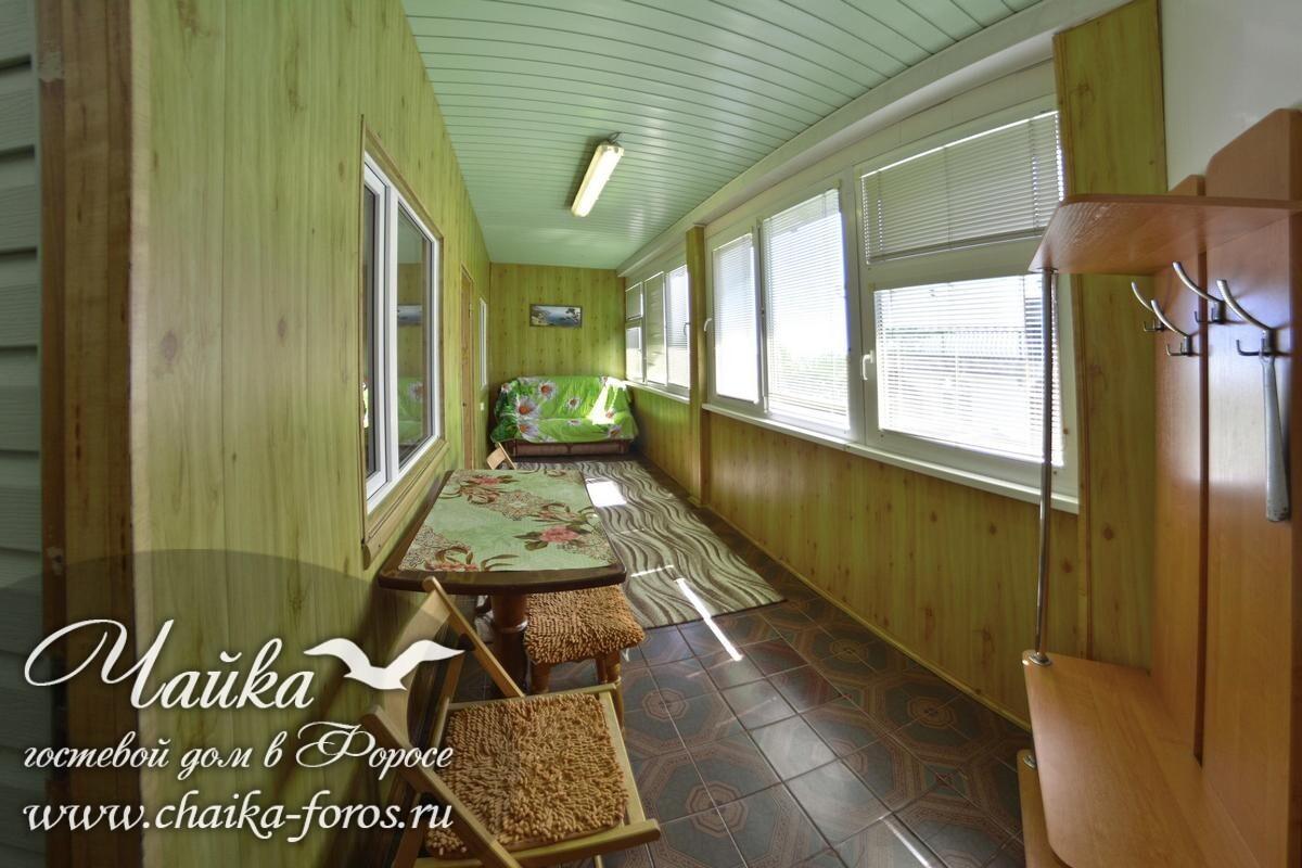 Гостевой дом Чайка Форос отдых отели Ялта