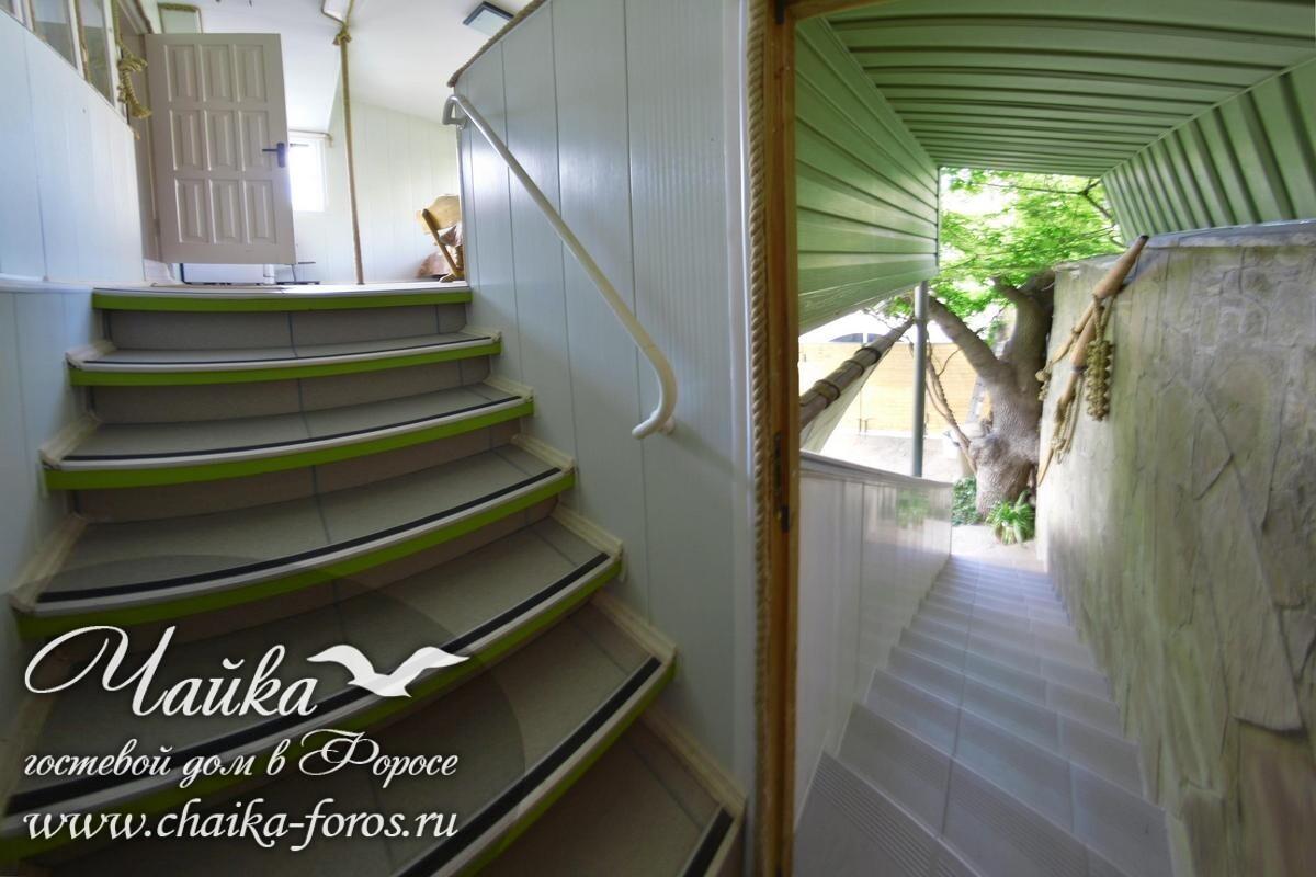 Гостевой дом Чайка в Форосе Крым снять Ялта