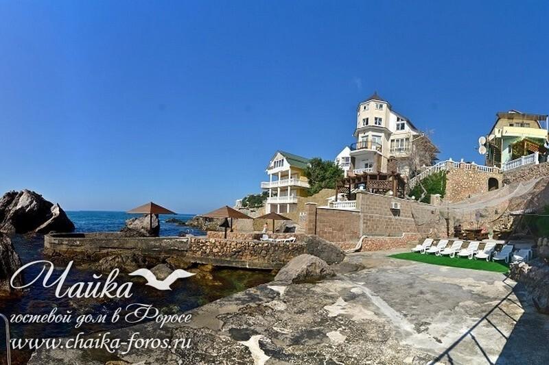 Форос гостевые дома и частные гостиницы Ялта Крым отдых у моря