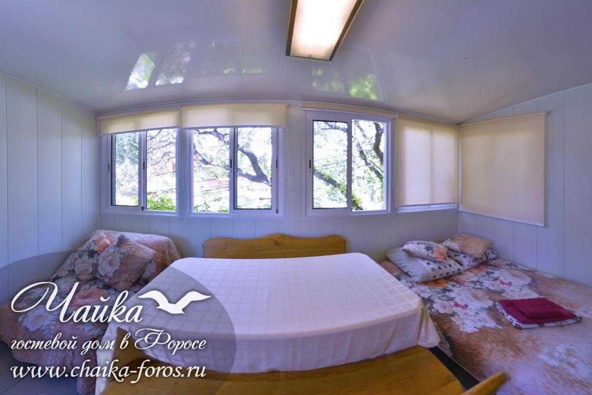Гостевой дом Фороса Чайка на берегу моря Ялта