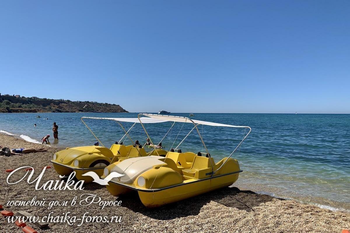 Форос гостевые дома у моря Ялта Крым отдых у моря