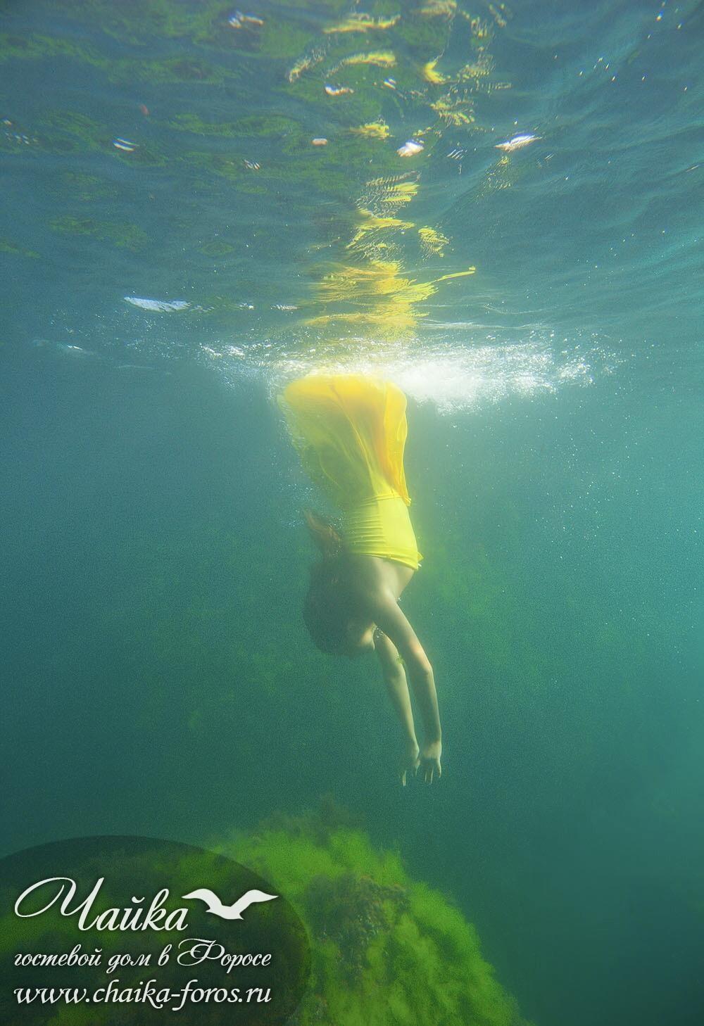 Позы для фотосессии в воде Форос Крым